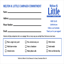 melton little campaign card