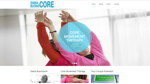 Core Movement Therapy Website