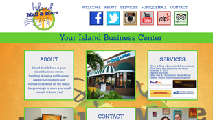 Island Mail and More Website